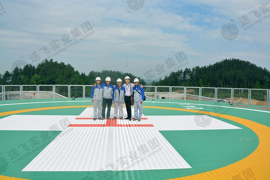 贵州遵义·新蒲新区人民医院 屋顶直升机停机坪